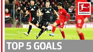 Coutinho, Reus & More - Top 5 Goals on Matchday 15