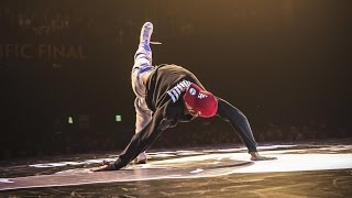 Bboy Issei vs Bboy Sean - Quarterfinal - Red Bull BC One Asian Pacific Final 2015