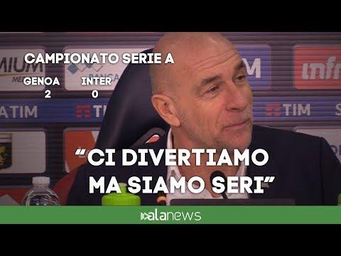 """Genoa, Ballardini: """"Noi sorridiamo sempre ma restiamo seri"""""""