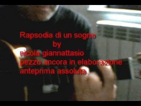 Giannattasio Nicola - Rapsodia di un sogno