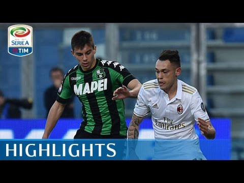 Sassuolo - Milan - 0-1 - Highlights - Giornata 26 - Serie A TIM 2016/17