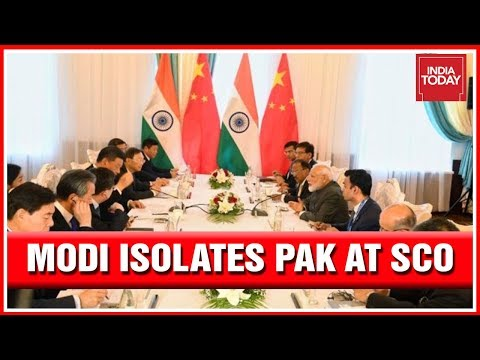 PM Modi Sends Big Message To Pakistan At SCO; Shames Pak With China | India First