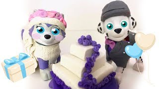 Marshall and Everest get Married Paw Patrol Save the Wedding Day Full Episodes Toys English