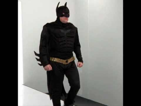 Batman Deluxe Muscle Chest Mens Fancy Dress Costume & Batman Deluxe Muscle Chest Mens Fancy Dress Costume - YouTube