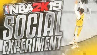 told them i was a 95, but really i was a 75. can i still tryout? (nba 2k19 social experiment)