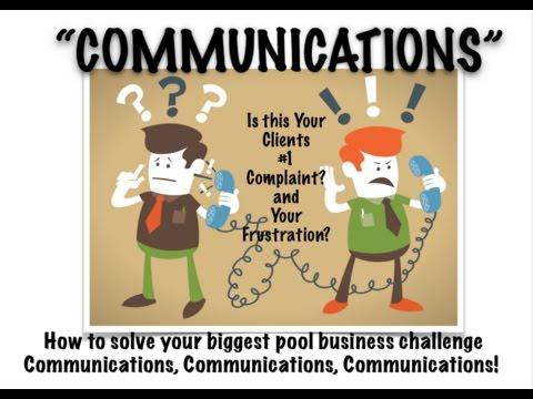 Communications, Communications, Communications