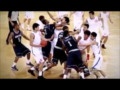 China Basketball Fights Vs The World