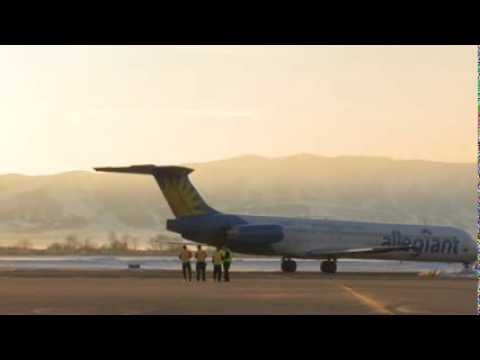 Allegiant Airlines Brings Flights Back To Provo Youtube