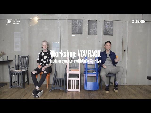 Workshop Modulárna syntéza s VCV Rack s Ondřejom Spiritzom (interview)