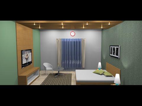 Membuat Kamar Set dengan Google Sketchup