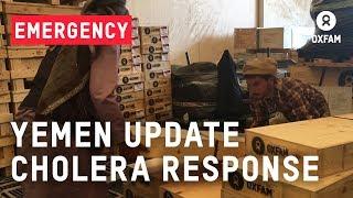 Yemen Update Cholera Response | Oxfam GB