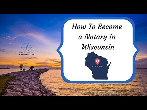 How to become a notary public in wisconsin: 10 steps.