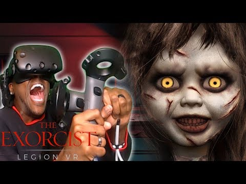 MY SOUL IS NOT READY FOR THIS | The Exorcist: Legion VR (Early Access) HTC Vive