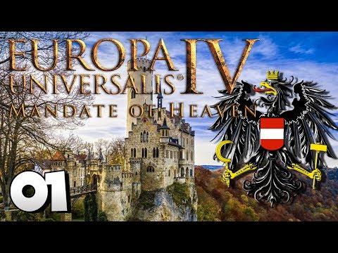 EU4 Mandate of Heaven #01 ...Du Österreich heirate!   Austria Europa Universalis 4