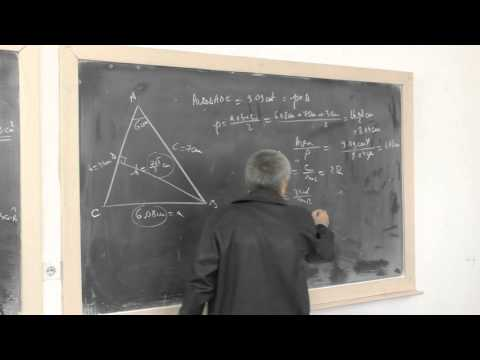 Lesson number GP   130-    Paythagoreen theorem applies generalized triangle