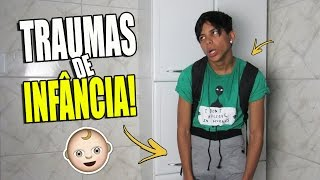 INFÂNCIA DE RICO E INFÂNCIA DE POBRE