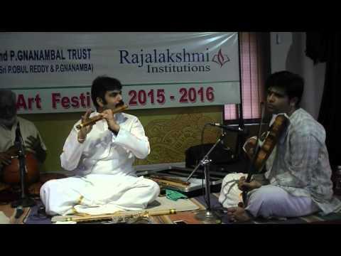 IAACM Presents: Flute Raman Live in Concert - Krishna Nee Begane - CL473