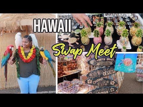 Honolulu Swap Meet Aloha Stadium | Shop With Me Hawaii Vlog