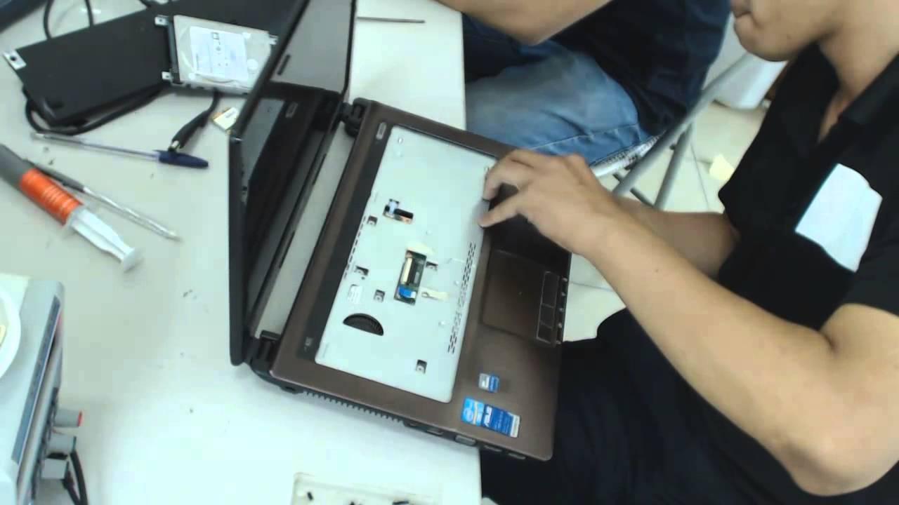 Hướng dẫn vệ sinh bảo dưỡng Laptop Asus K43