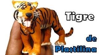 ✅ COMO HACER UN TIGRE DE PLASTILINA PASO A PASO ✅ MI MUNDO DE PLASTILINA - MY CLAY WORLD