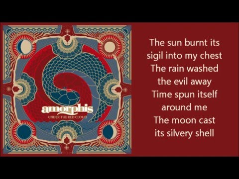 Amorphis - Under the Red Cloud (Lyrics on Screen)