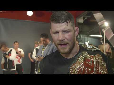 UFC 199: Michael Bisping Backstage Interview