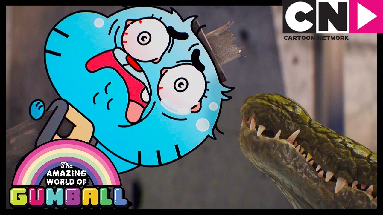 Download Gumball | Gumball Fights a Shapeshifting Crocodile | Cartoon Network