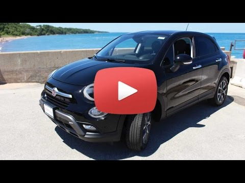 2016 fiat 500x review 2016 fiat 500x test drive chicago news youtube. Black Bedroom Furniture Sets. Home Design Ideas