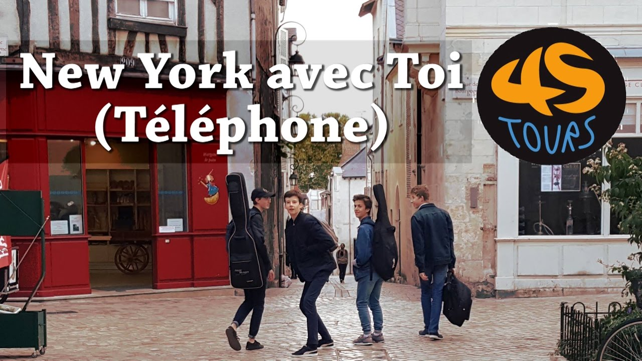 New york avec toi t l phone 45tours cover youtube - New york avec toi ...