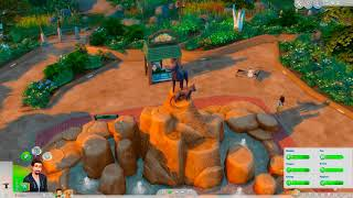 Let's Play The Sims 4 Cats and Dogs EP12 Take the family to the dog park