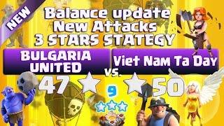 "Clash of clans | New Balance Attack | CLAN WAR ""TH11 vs TH11"" | Viet Nam Ta Day - 9 x 3 stars"