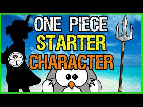 One Piece Starter Character Tag!! Tagged  RogersBase