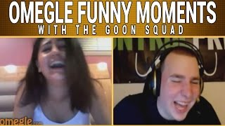 ROASTING PEOPLE ON OMEGLE with the #GOONSQUAD