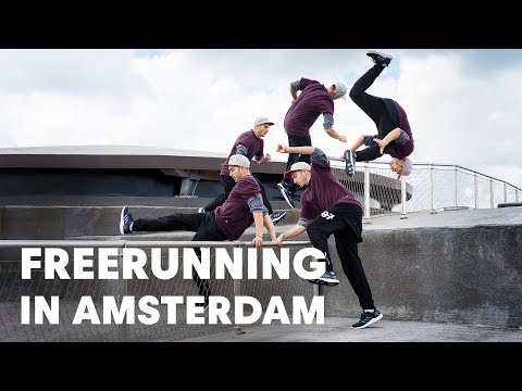 The Best Freerunners Meet Up at Red Bull 100 Hours.