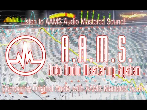 AAMS Audio Mastering Showcase