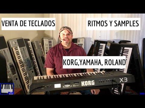 VENTA DE TECLADOS  KORG YAMAHA ROLAND Y MAS