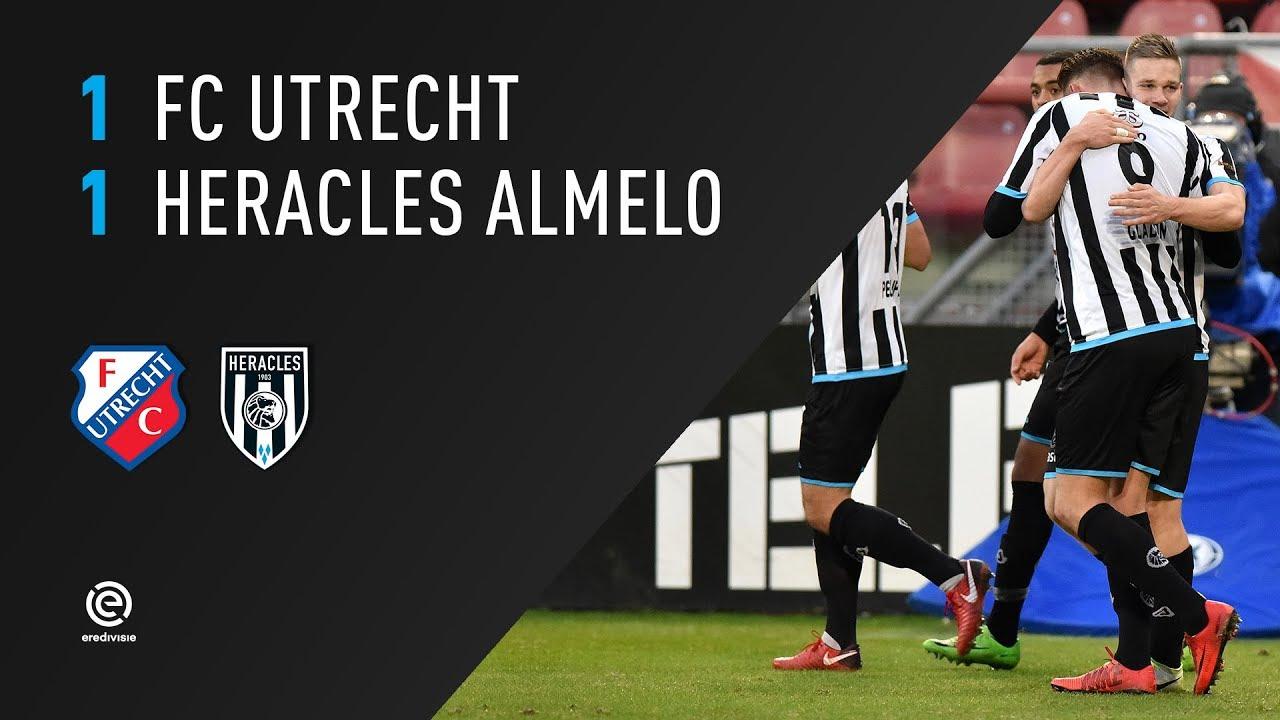 FC Utrecht - Heracles Almelo 1-1 | 17-12-2017 | Samenvatting