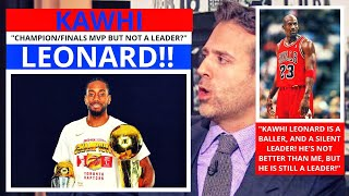Kawhi Leonard (Los Angeles Clippers) Not A Good Leader? ESPN First Take - Stephen/Max [Commentary]