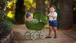 Fairy Tail Newborn Photoshoot Outdoor, creative newborn photography VLOG 031