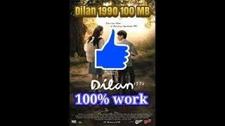 Gambar cover Cara download film Dilan 1990 [100 mb] 100% work