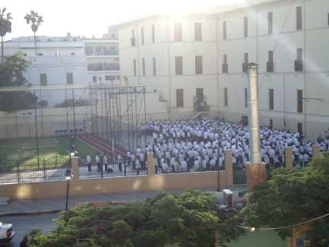 School in front of my flat in Tripoli part  2