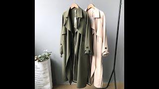 Пальто для женщин уличная одежда полиэстер desigual весна осень корейская женская мода одежда 2020