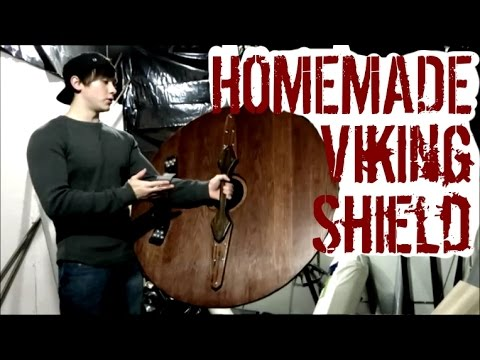 How to Make a Viking Round Shield (No Metal Working Required!)