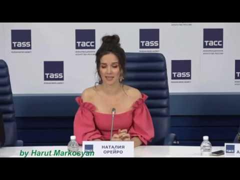 Natalia habla sobre ARMENIA - Press Conference in Moscow (19.03.2019)
