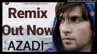 Aazadi (Remix) Gully Boy|| Ft Divine ||Dj Zombie Mumbai || 2019