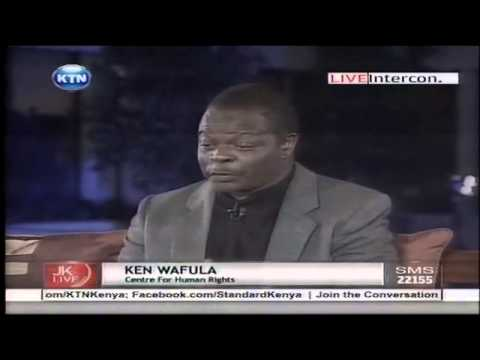 Jeff Koinange live with David Matsanga and Ken Wafula (The Hague Trial)