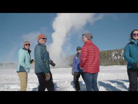 Winter in Yellowstone with Wildlife Expeditions