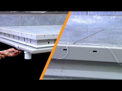 Sistema di gronda per balconi e terrazzi: Schlüter®-BARIN: