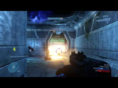 [4K] 1 Hour of Halo 3 (360) Multiplayer Gameplay on Xbox One X