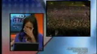 Emotional Moment on B.E.T. as Obama is Elected